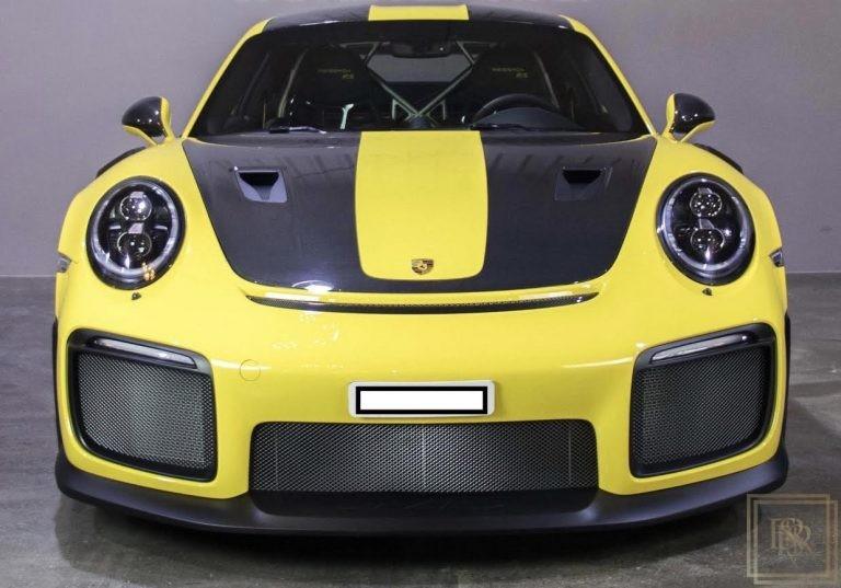 2018 Porsche 911 GT2 RS Black leather/Alcantara for sale For Super Rich