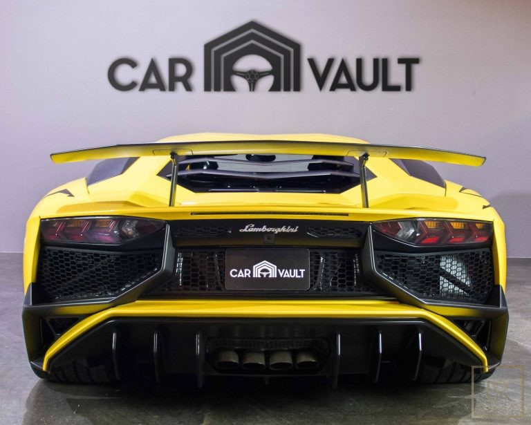 used Lamborghini Aventador SV Roadster LP750-4 for sale supercars