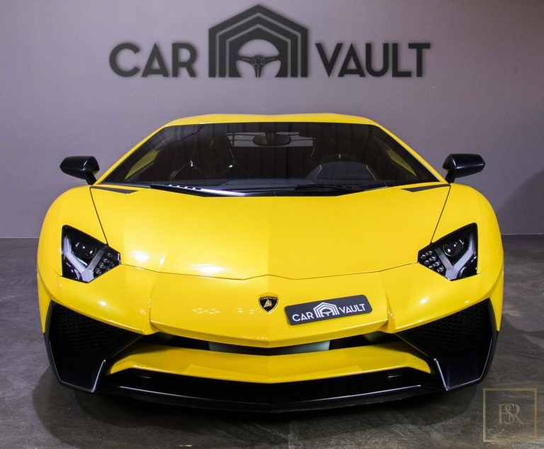used Lamborghini Aventador SV Roadster LP750-4 for sale