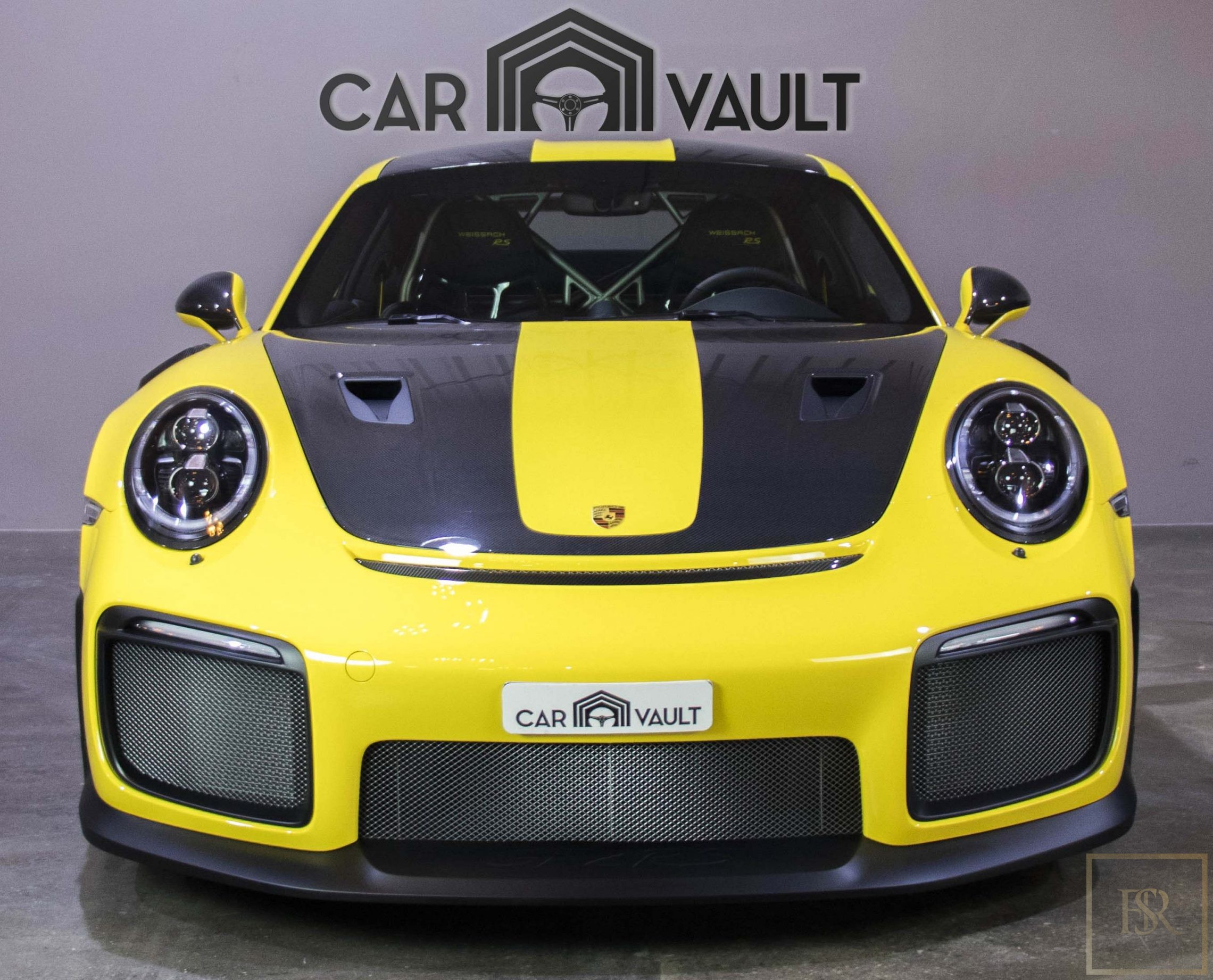 Used 2018 Porsche 911 Gt2 Rs Yellow 588 Km For Sale For