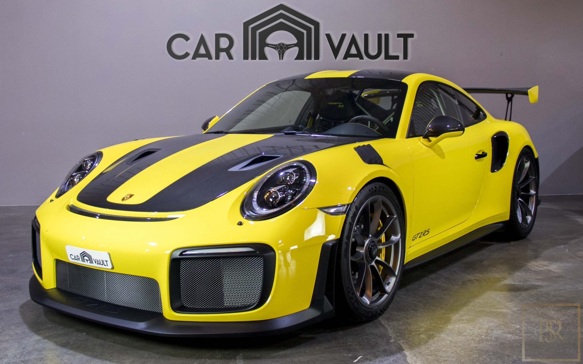 used 2018 porsche 911 gt2 rs yellow 588 km for sale for super rich
