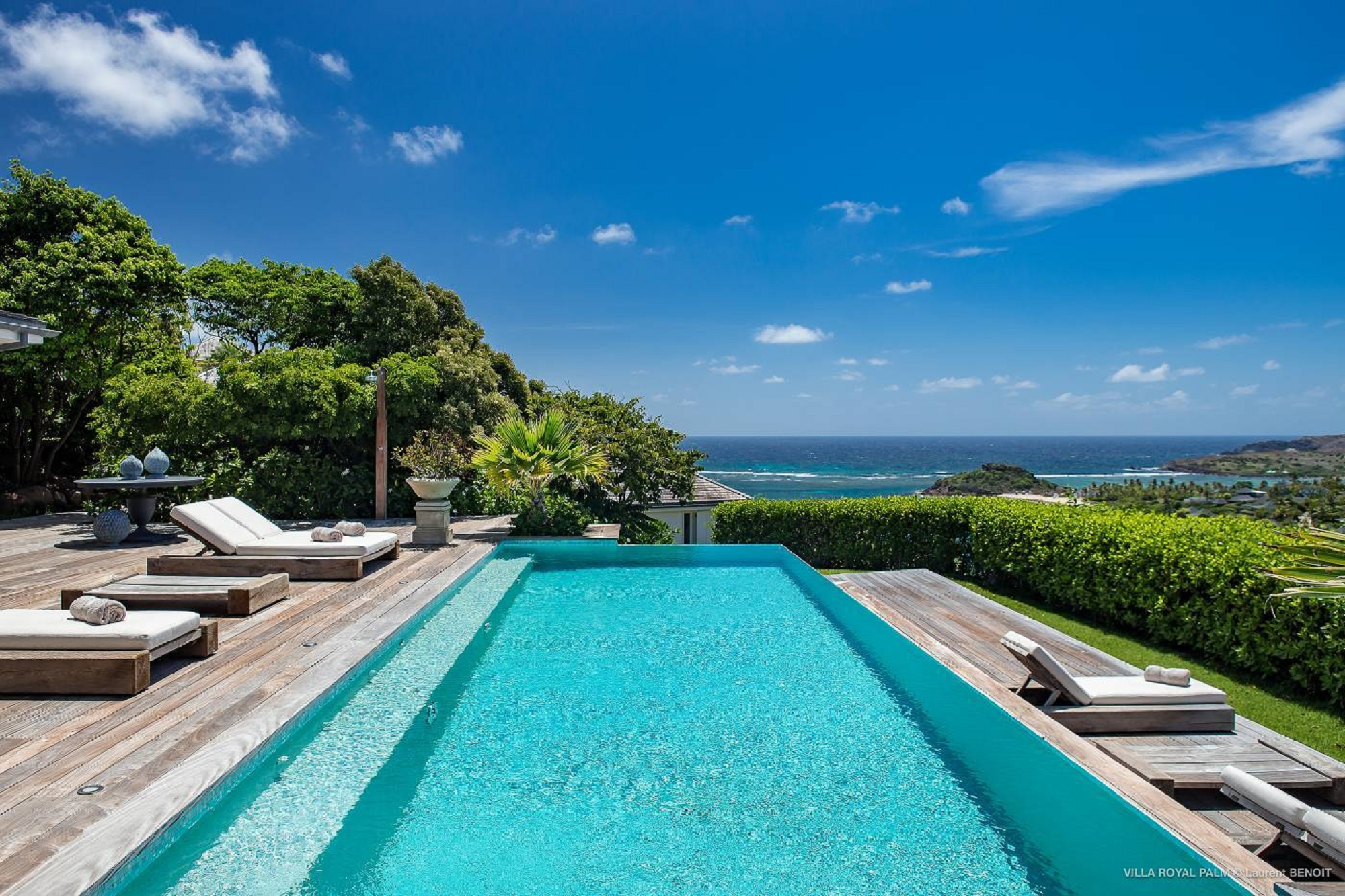 Villa Palmier Royal Estate 12 BR - Marigot, St Barth / St Barts rental For Super Rich