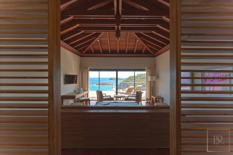 For super rich most expensive real estate St Barth - Pointe Milou St Barth St. Barthélemy for sale