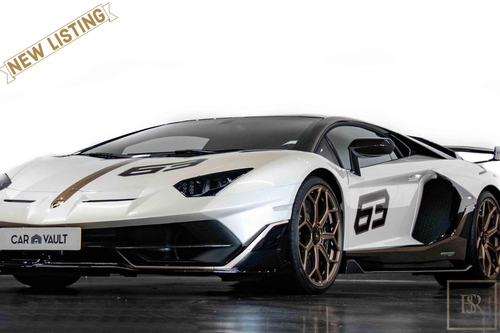 2020 Lamborghini AVENTADOR SVJ for sale For Super Rich
