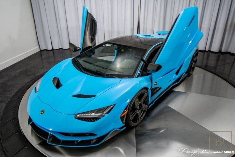 2017 Lamborghini Centenario 750 for sale For Super Rich