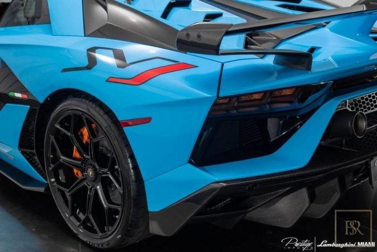 2019 Lamborghini AVENTADOR SVJ 6.5L for sale For Super Rich