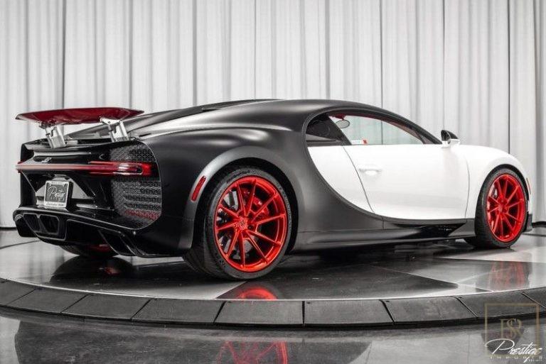 2019 Bugatti CHIRON Quad-Turbocharged W16 for sale For Super Rich