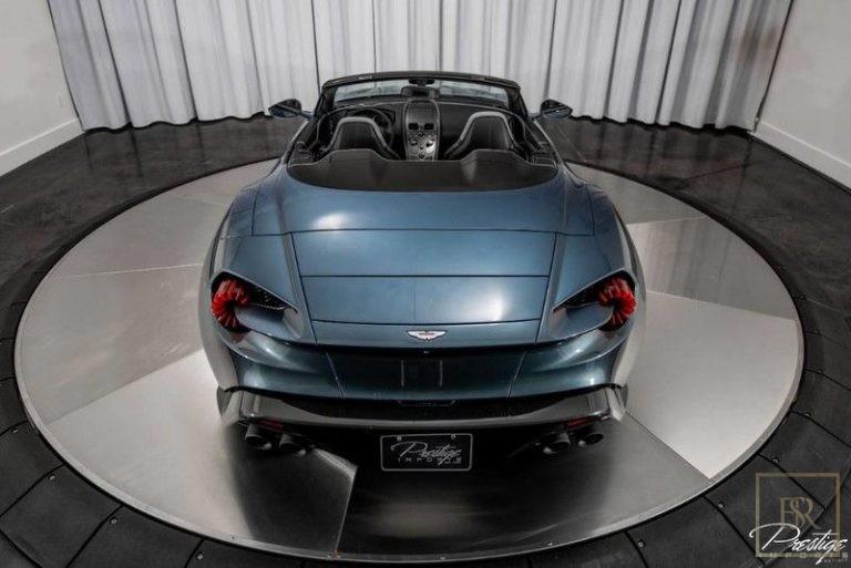 used Aston Martin Vanquish Zagato for sale for super rich