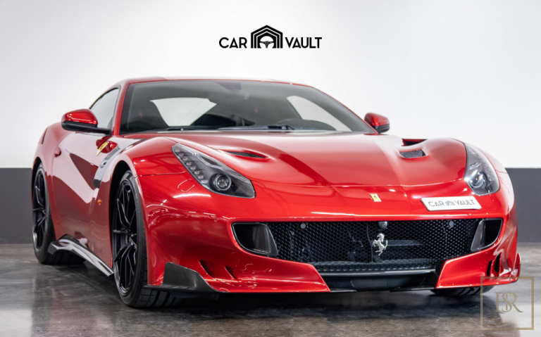 2017 Ferrari F12 TDF Red for sale For Super Rich
