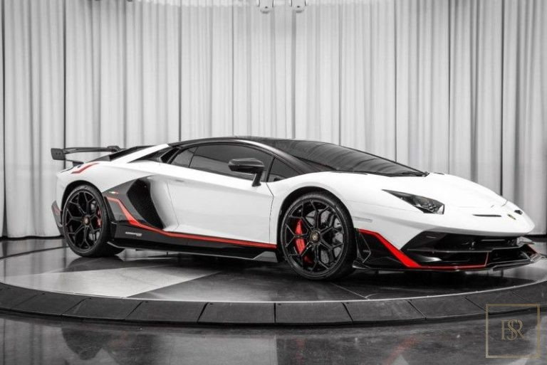 2019 Lamborghini AVENTADOR SVJ White for sale For Super Rich