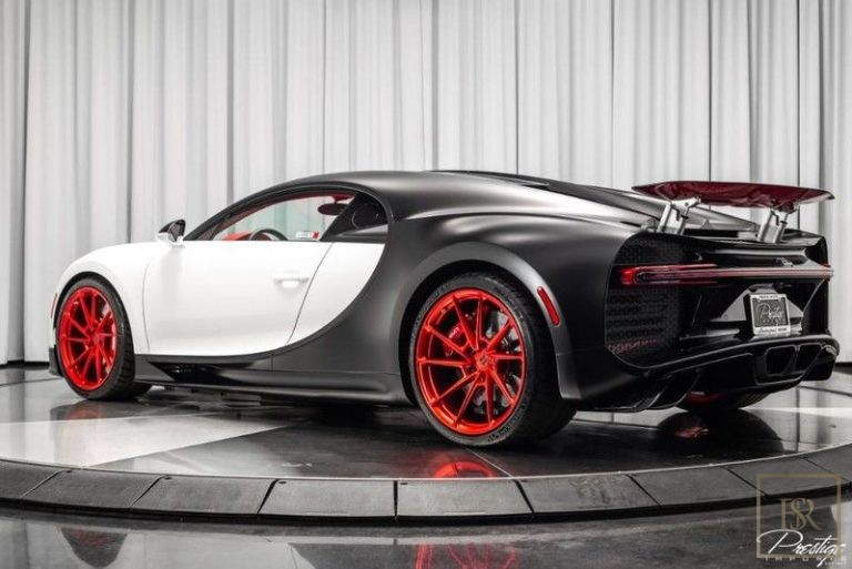 2019 Bugatti CHIRON Red  for sale For Super Rich