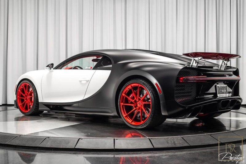 Used 2019 Bugatti Chiron white 446 Miles for sale | For Super Rich