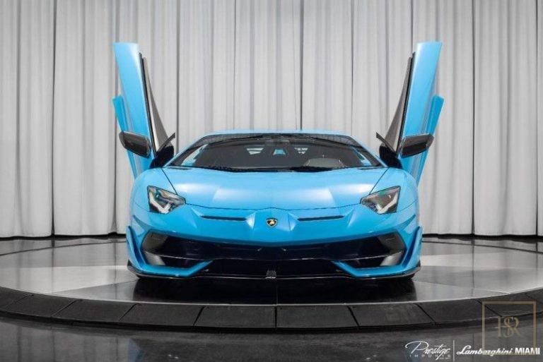 2019 Lamborghini AVENTADOR SVJ Black for sale For Super Rich