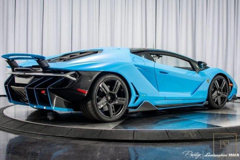 2017 Lamborghini Centenario Coupe for sale For Super Rich