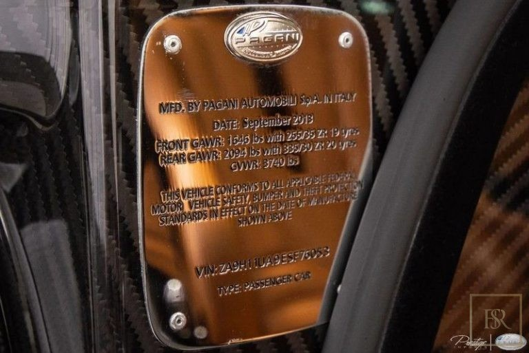2014 Pagani HUAYRA autotrader for sale For Super Rich
