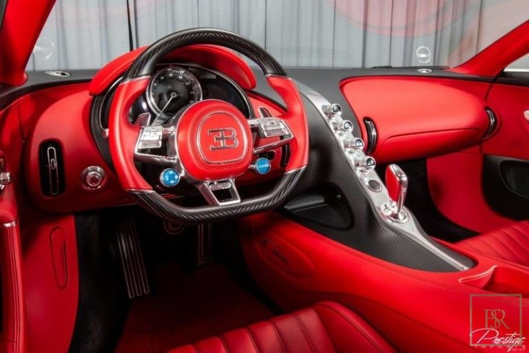 used Bugatti CHIRON for sale worldwide