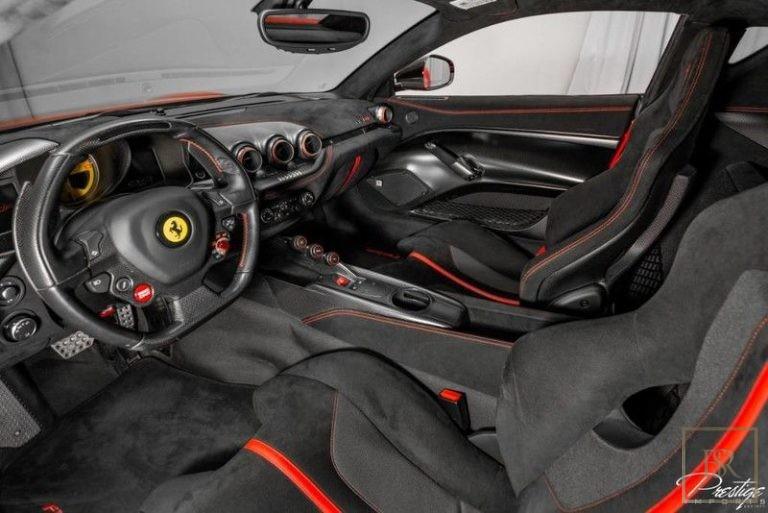 2016 Ferrari F12 TDF supercar for sale For Super Rich