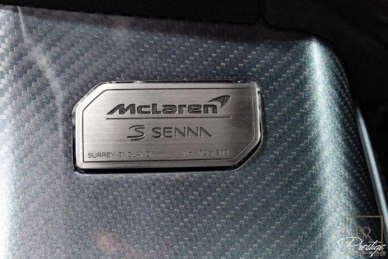 2019 McLaren Senna best for sale For Super Rich