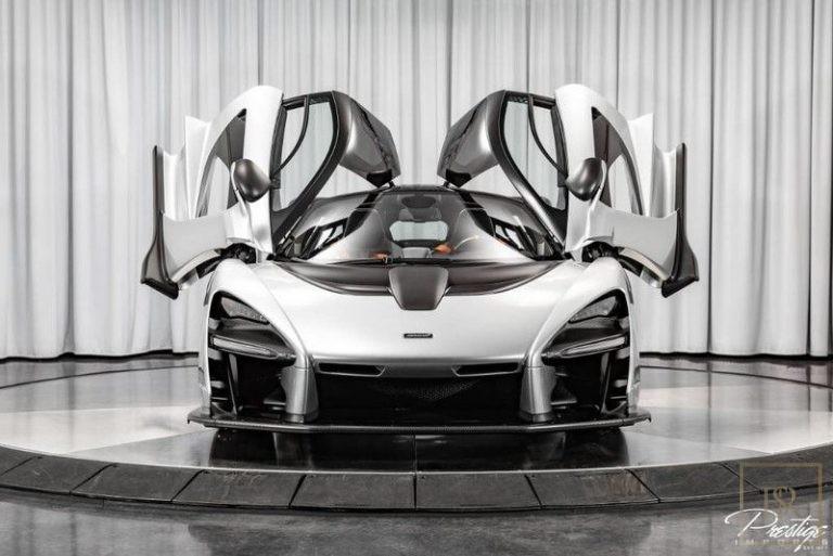 2019 McLaren Senna Black Alcantarak for sale For Super Rich