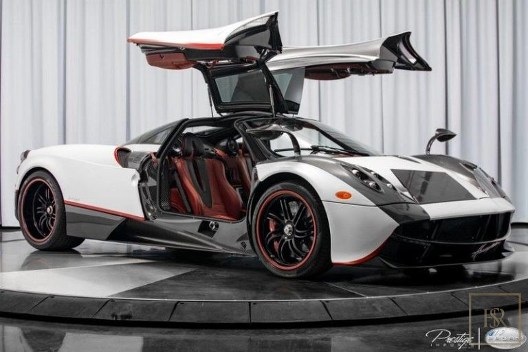 2016 Pagani HUAYRA Bianco Benny for sale For Super Rich