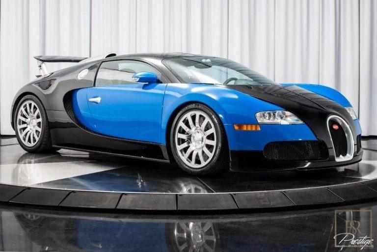 2010 Bugatti VEYRON Black & Blue for sale For Super Rich