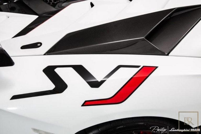 2019 Lamborghini AVENTADOR SVJ V12 for sale For Super Rich