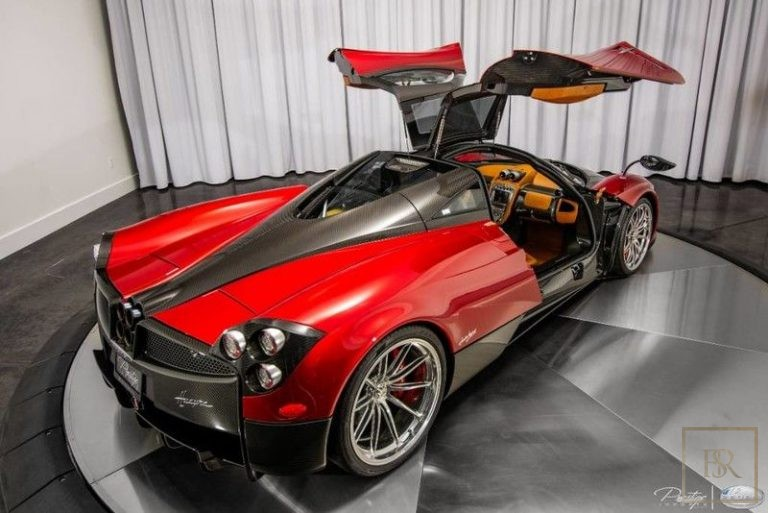 2014 Pagani HUAYRA luxury for sale For Super Rich