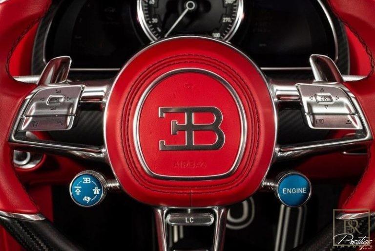2019 Bugatti CHIRON Automatic for sale For Super Rich