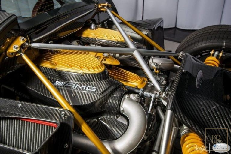 2016 Pagani HUAYRA interior for sale For Super Rich