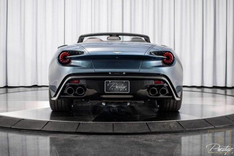 used Aston Martin Vanquish Zagato for sale supercars