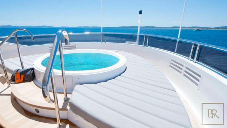 Sunseeker E-MOTION 40 Meters motor yacht charter rental For Super Rich