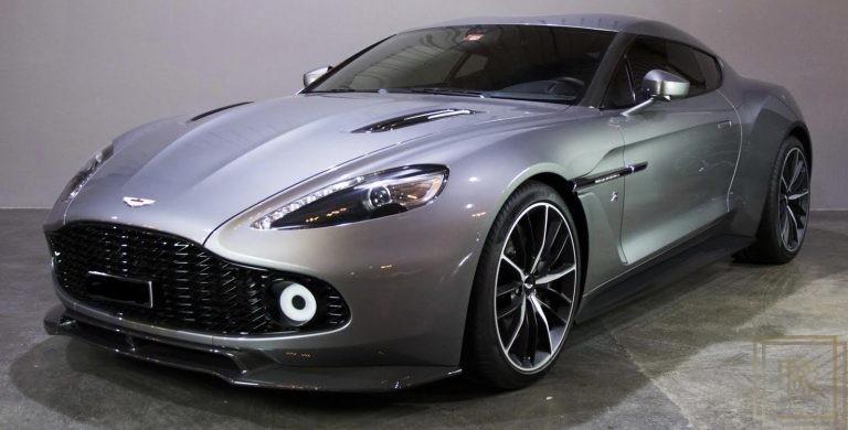 2017 Aston Martin Vanquish Zagato Grey for sale For Super Rich