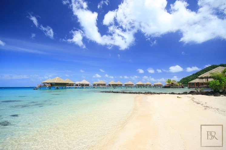 For super rich most expensive villas Huahine French Polynesia for sale