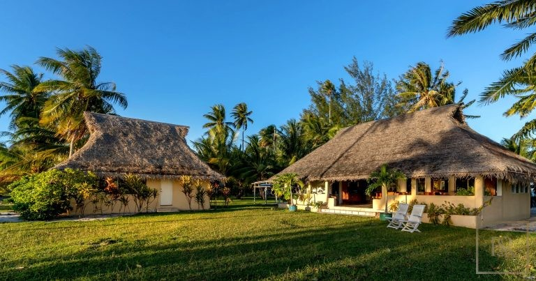 Most expensive properties Taha'a Motu Moie French Polynesia for sale