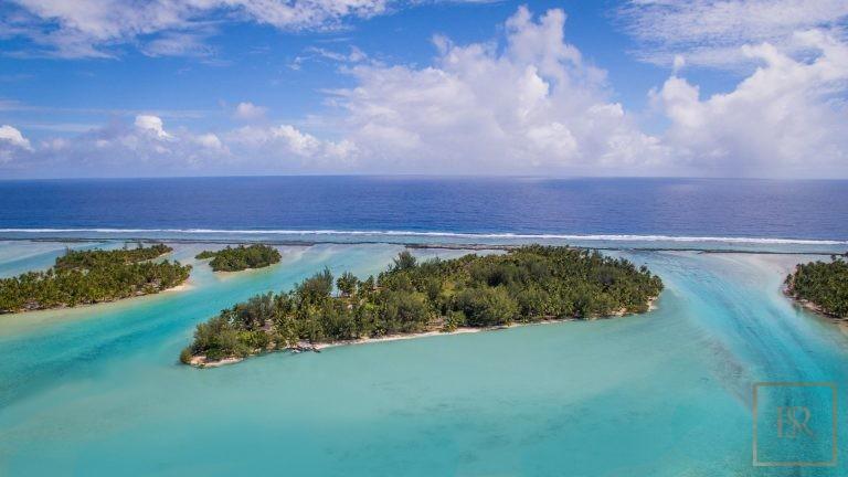 Ultra luxury house Taha'a Motu Moie French Polynesia for sale
