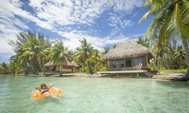 Most expensive luxury villa Taha'a Motu Moie French Polynesia for sale