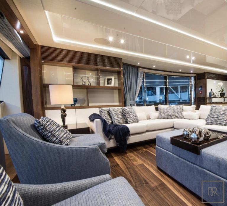 Sunseeker E-MOTION 40 Meters escape charter rental For Super Rich