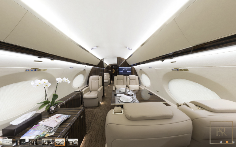 Luxury private jets Bombardier Global express for charter for super rich