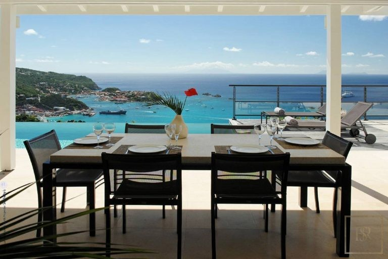 Villa The View 4 BR - Colombier, St Barth / St Barts The View rental For Super Rich