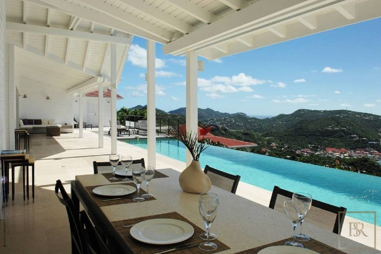 Villa The View 4 BR - Colombier, St Barth / St Barts best rental For Super Rich