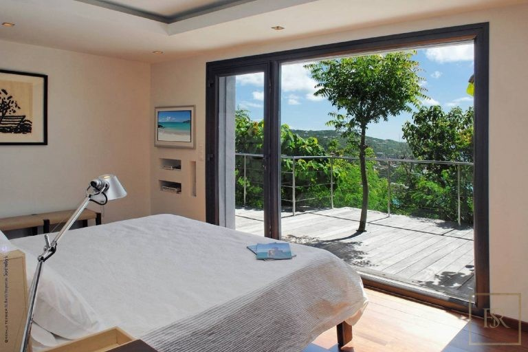Villa The View 4 BR - Colombier, St Barth / St Barts real estate rental For Super Rich