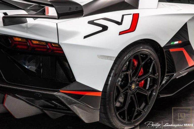2019 Lamborghini AVENTADOR SVJ interior for sale For Super Rich