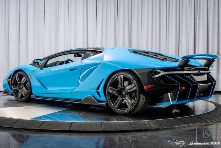 2017 Lamborghini Centenario Used for sale For Super Rich