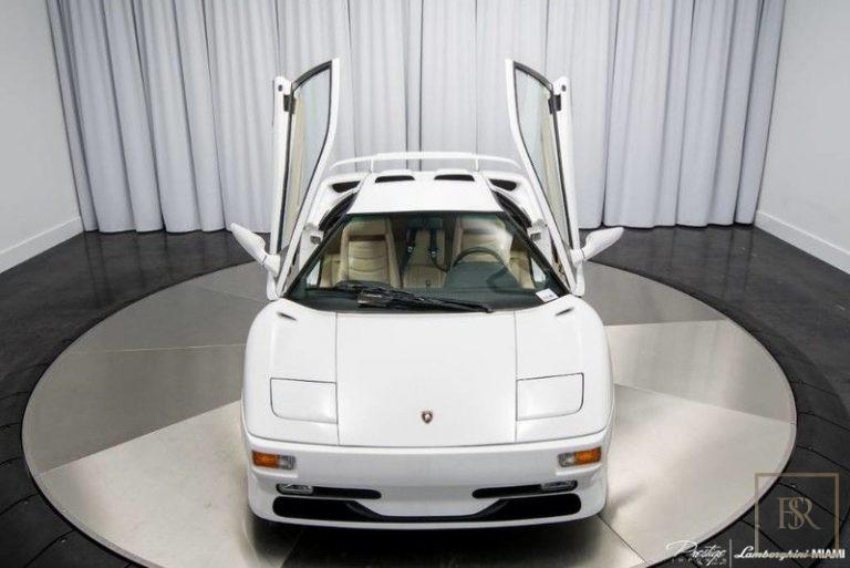 used Lamborghini DIABLO SV for sale for super rich