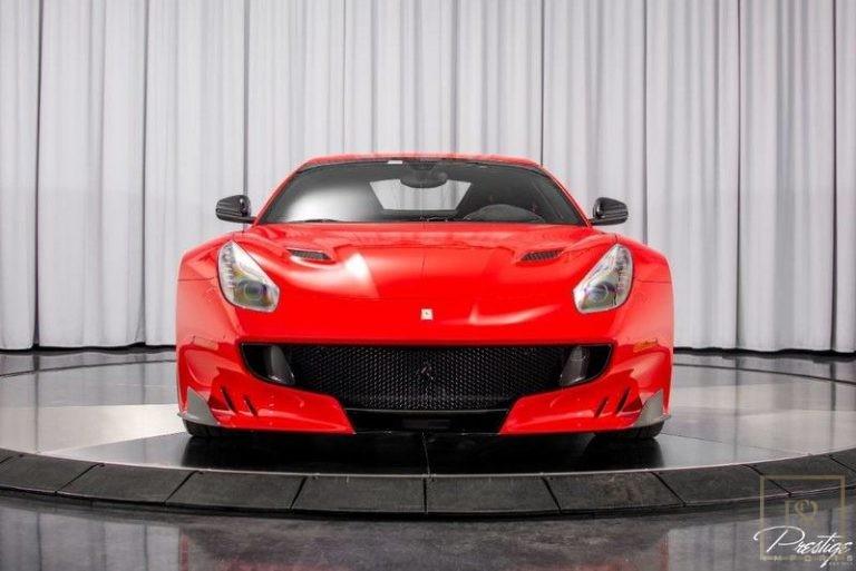 2016 Ferrari F12 TDF Black Alcantara for sale For Super Rich