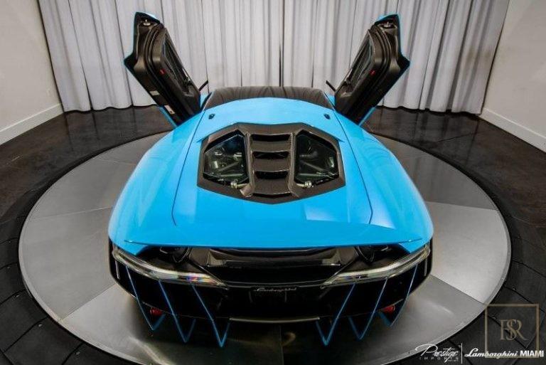 2017 Lamborghini Centenario supercar for sale For Super Rich