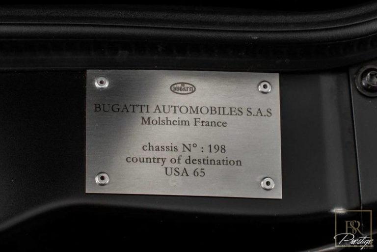 2010 Bugatti VEYRON photo for sale For Super Rich