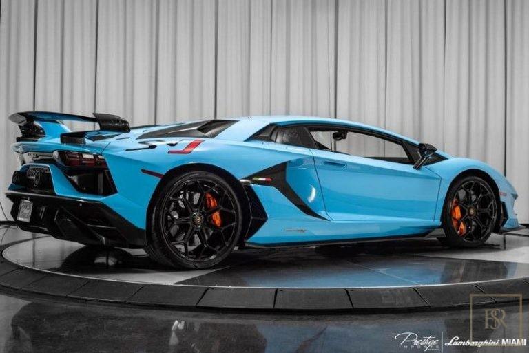 2019 Lamborghini AVENTADOR SVJ supercar for sale For Super Rich
