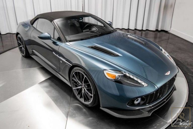 used Aston Martin Vanquish Zagato for sale exotic cars