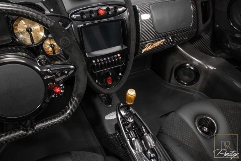 2017 Pagani HUAYRA interior for sale For Super Rich